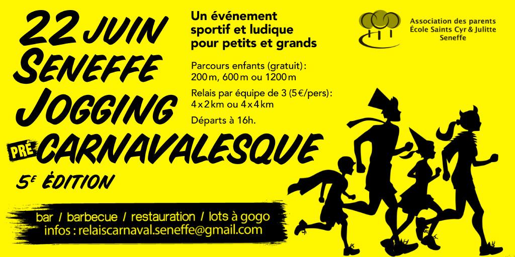 Jogging préCarnavalesque 2019